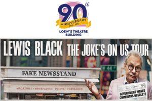 Lewis Black: The Joke's On Us Tour