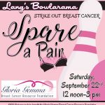 Spare A Pair Bowl-A-Thon: Gloria Gemma Cancer Research Foundation Benefit