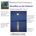 MoonRise over the Seekonk