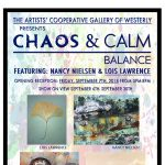 Artists' Cooperative Gallery of Westerly Chaos & Calm Balance Show