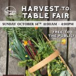 Harvest-to-Table Fair