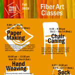 Trad Arts Studio at Slater Mill: Fall Classes!