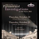 Mills & Mysteries Paranormal Investigation