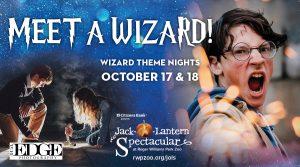 Wizarding Nights at the Jack-O-Lantern Spectacular...