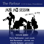 Parlour Jazz Jam - Middle Eastern Jazz