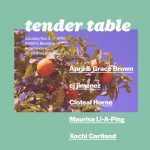 Tender Table: Providence Launch