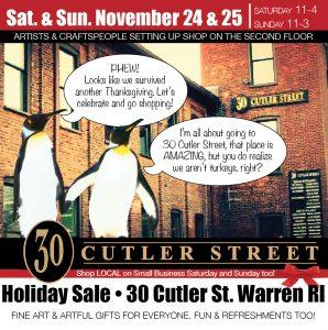 Holiday Studio Sale! 30 Cutler Street Warren RI