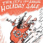 Thirsty's 14th Annual Holiday Sale