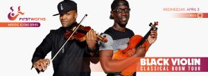 BLACK VIOLIN CLASSICAL BOOM TOUR