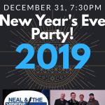 NEAL AND THE VIPERS 4TH ANNUAL NEW YEARS EVE BASH