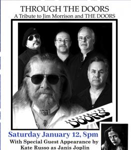 Through the Doors - The Doors Tribute Opener Piece Of My Pearl