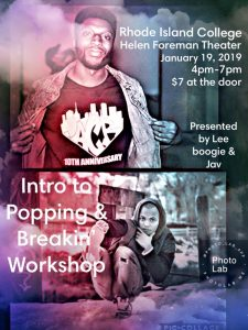 Intro to Popping & Breakin' workshop
