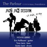 Parlour Jazz Jam - Eric Hofbauer Trio + Jazz 101