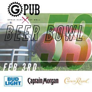 GPub's Beer Bowl 53