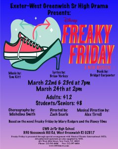 Disney's Freaky Friday the Musical, presented by...