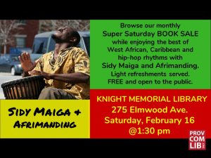 Super Saturday at Knight Memorial Library