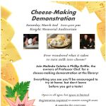 Cheese-Making Demonstration