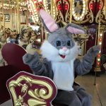 Visit with the Easter Bunny at Carousel Village
