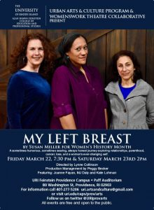 MY LEFT BREAST presented by URI Feinstein Providence Campus