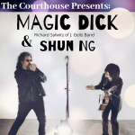 MAGIC DICK RICHARD SALWITZ OF J. GEILS BAND AND SHUN NG