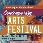 2019 URI Contemporary Arts Festival