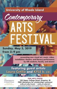 2019 URI Contemporary Arts Festival