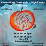Roald Dahl's James and the Giant Peach Jr. presented by the EWG Jr. High Drama Club