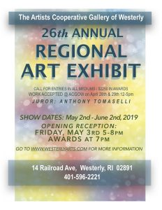Artists' Cooperative Gallery of Westerly Regional Art Exhibit