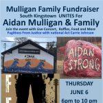 MULLIGAN FAMILY FUNDRAISER – AIDAN STRONG