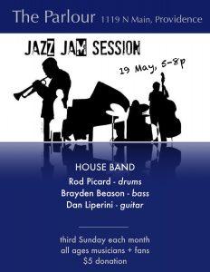 Parlour Jazz Jam - Brayden Beason & Friends