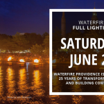 WaterFire Full Lighting - Saturday, June 22nd
