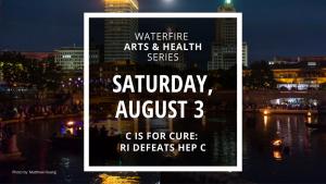 WaterFire Full Lighting - Saturday, August 3rd