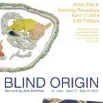 Exhibit: Blind Origin - New Work by Judd Schiffman