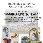"""Artists' Cooperative Gallery of Westerly """"Scene from a Train"""" June Show"""