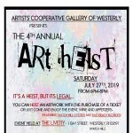 Artists' Cooperative Gallery of Westerly: 4th Annual Art Heist