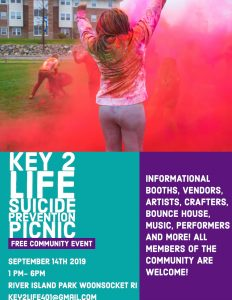 Key2Life Suicide Prevention Picnic