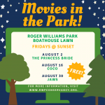 Movies in the Park at Roger Williams Park