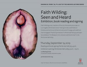 Faith WIlding: Seen and Heard