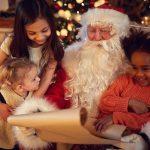 Visit with Santa at Carousel Village