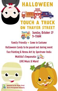 Halloween Touch A Truck on Thayer