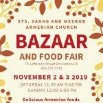Saints Sahag and Mesrob Armenian Church ARMENIAN FOOD FAIR and BAZAAR