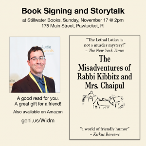 Book Signing & Storytelling by Mark Binder: TH...