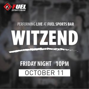 Witzend LIVE at FUEL Sports Bar