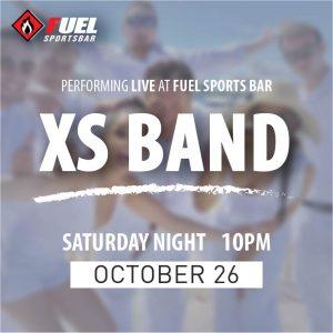 XS Band LIVE at FUEL Sports Bar