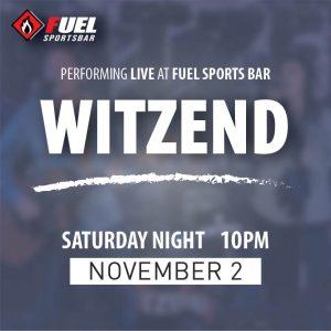 Witzend returns to FUEL Sports Bar