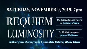 Requiem & Luminosity - A Providence Singers Concert