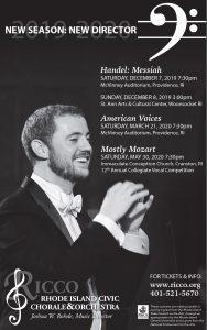 Handel's Messiah as performed by the Rhode Island ...