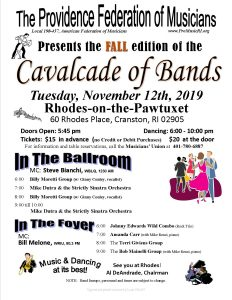FALL 2019 Cavalcade of Bands Dance