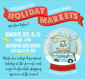 Providence Flea Holiday Markets!