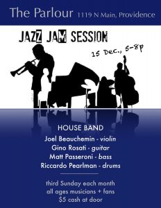 Parlour Jazz Jam - Joel Beauchemin & Friends